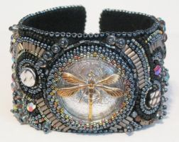 Heavy Metal cuff by Bev-Choy