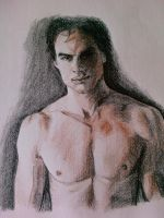 Shirtless by papercutgirl90
