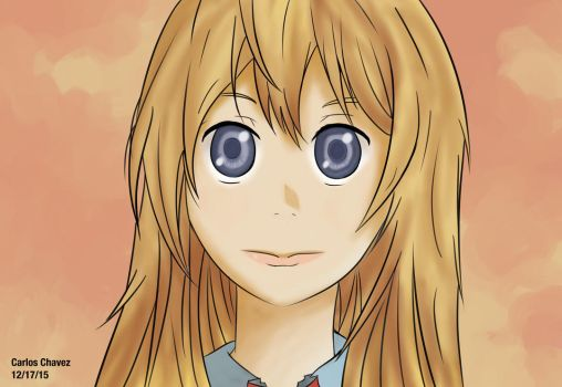 (Kaori Miyazono) From: Your Lie in April by krypticmaster