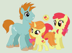 Ginger Gold - SnipsBloom Family by unoriginaI