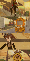 Welcome SteamPunk Yua by KingdomHeartsNickey