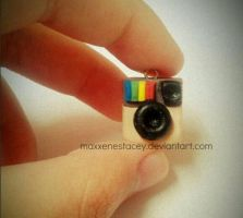Polymer Clay Instagram Icon by MaxxeneStacey