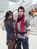 Anime Expo 2012- Mako and Asami by relzodiac