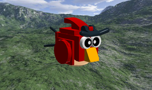 Lego Red (Angry Birds) by AngryBirdFan