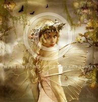 Beauty with wings by CindysArt