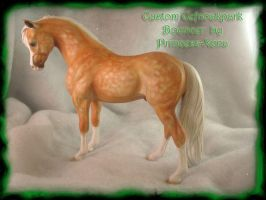 Dapple Palomino Welsh Pony by PrincessXena1027