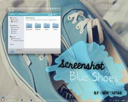 Screenshot Blue Shoes' by Shim'Tutos by HelenaSM4