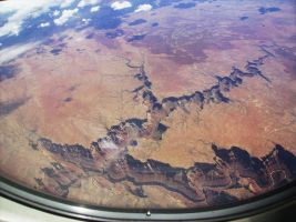 Grand Canyon From Above by isaiasvalencia