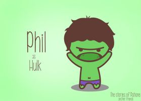 Phill as Hulk by patione