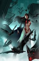 Vampirella 6 cover by PaulRenaud