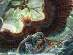 Scorpion Tailed Hawk by TheDragonofDoom