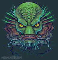 Creature shirt design by missmonster