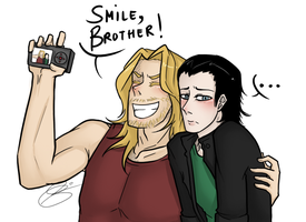 Smile, Brother! by eagle-eyes