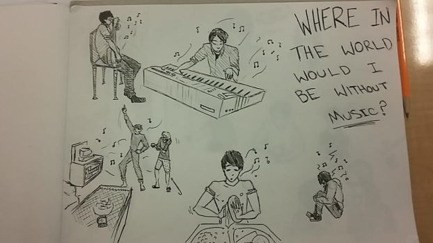 Where In The World Would I Be Without Music? by quietyoufiend
