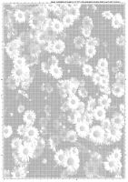 Screentone flowers 1 by bakenekogirl