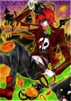 Halloween Sweet Pumpkin Candie by Eternal-S