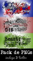 Textos PNG - Pack 7 by LoveDanceFlawless