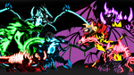 Nightmare Heores and Villains Chibis by brunolin