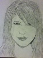 Hayley Williams drawing by jt0002