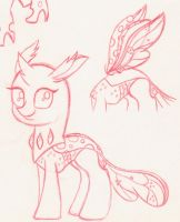 Xenia Changeling Reformed by Rhythm-is-best-pony