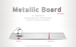 Metallic Board by iDock by OminousShadows