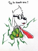 Four : Mr.Peabody - Electric glove by doraemonbasil