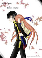 .:Code Geass: Lulu x Shirley:. by DarkLuzifer