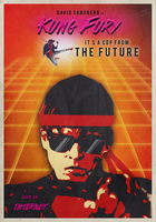 Kung Fury - Fan Poster by Caparzofpc