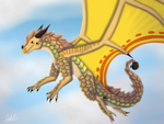 Soaring Through the Clouds CM by Haasiophis-Sahel