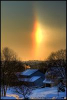 Sundog Evening by FramedByNature