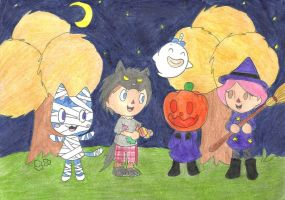 Spooks day by OutThereOtaku