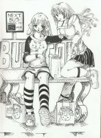 bus stop-by chisana-contest5 by chobits-club
