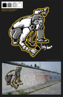 prop graff by Lindas-boy