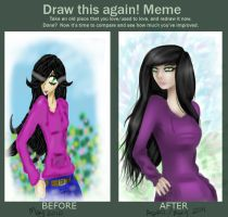 .: M E M E - before after :. by RosaVam