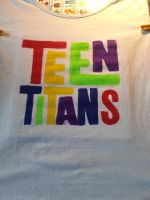 Teen Titans T-shirt! by Nancy171112