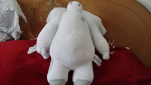Baymax Plush by SonicX16