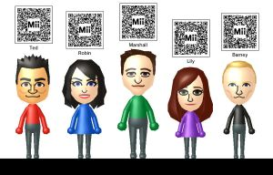 How I Met Your Mother Miis by Lwiis64