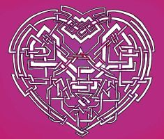 Updated Celtic Heart by taranthor