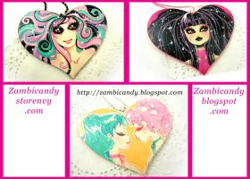 Wooden heart by zambicandy