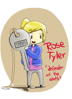 Rose Tyler by azu-uchiha