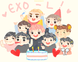 2 YEARS OF EXO-L by Lolibeat