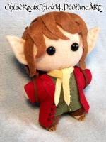 I'm going on an adventure! - Bilbo Baggins plushie by ChloeRockChick14