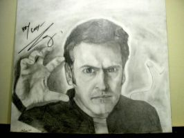 Bruce Campbell by asconch