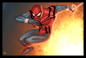 Ben Reilly colored by ragelion