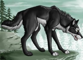 Wolf Frost by TheSiubhan
