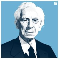 Bertrand Russell by monsteroftheid
