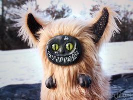 Muck, monster art doll by PastYourPorchlight