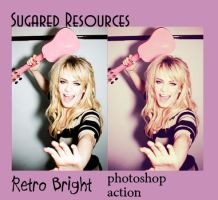 Retro Bright .PHOTOSHOP ACTION by sugaredheart