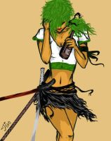 Zoro by Forbidden-Realm-T