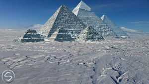 Frozen Pyramids by HateMind